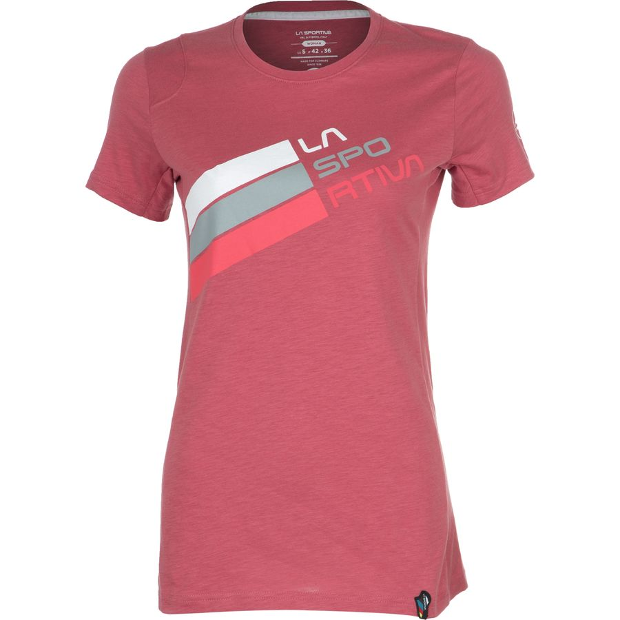 La Sportiva Stripe Logo T-Shirt - Short-Sleeve - Womens