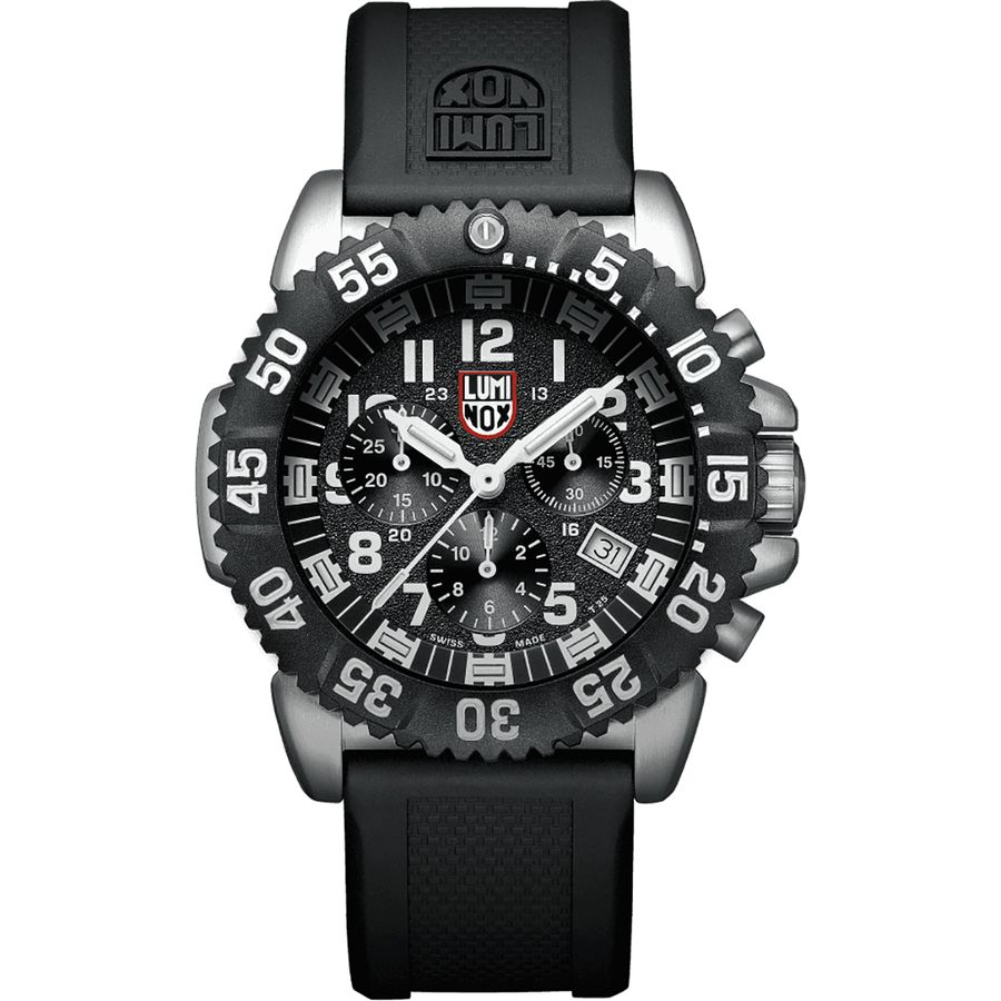 Luminox navy seal steel colormark chronograph 3180 series watch for Watches navy seals use