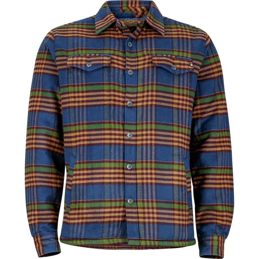 Marmot Ridgefield Sherpa Flannel Jacket - Mens