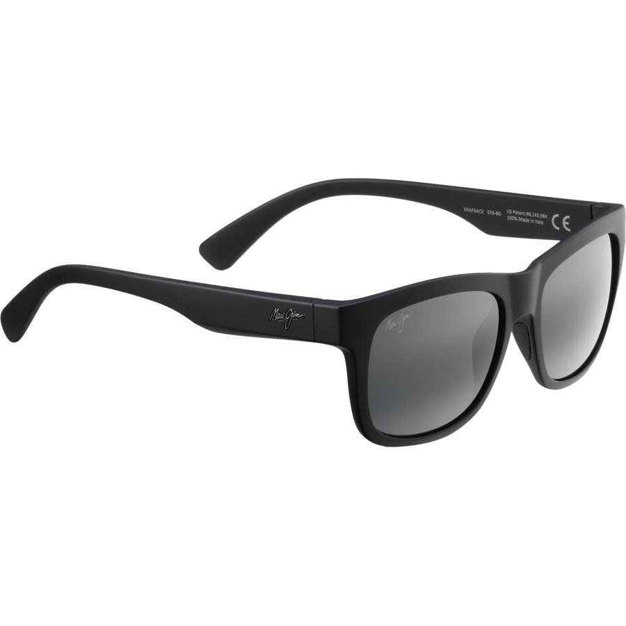 Maui jim snapback polarized sunglasses for Maui jim fishing sunglasses
