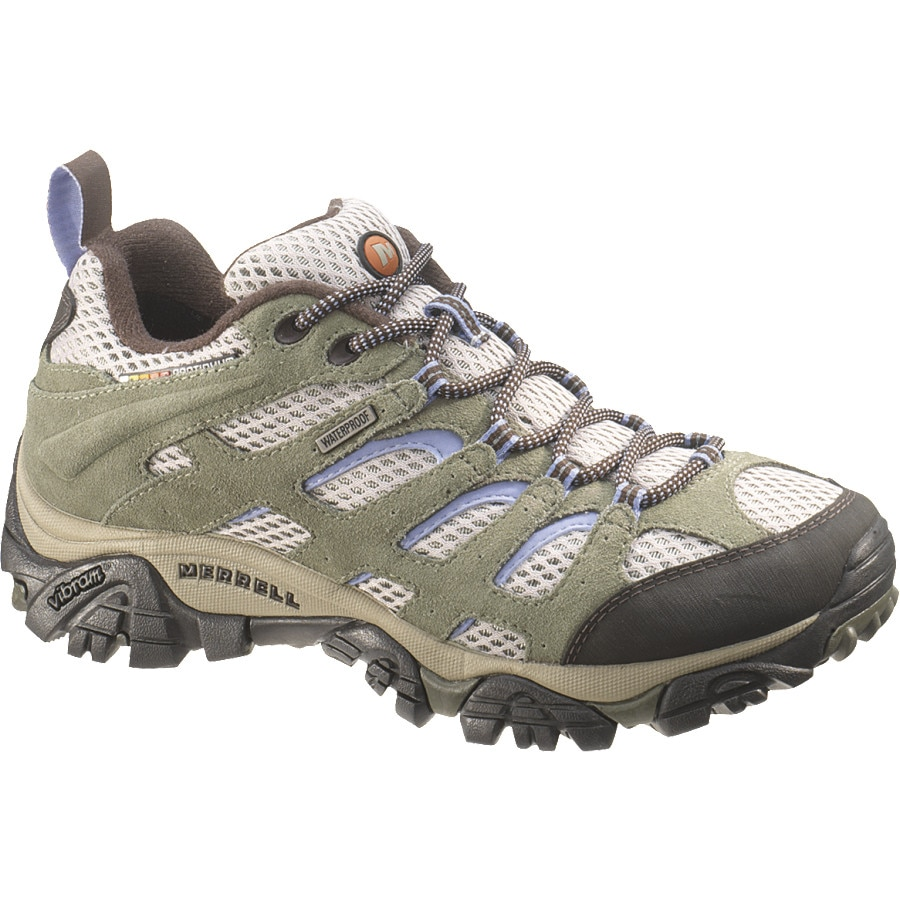 Merrell Moab Waterproof Hiking Shoe - Womens
