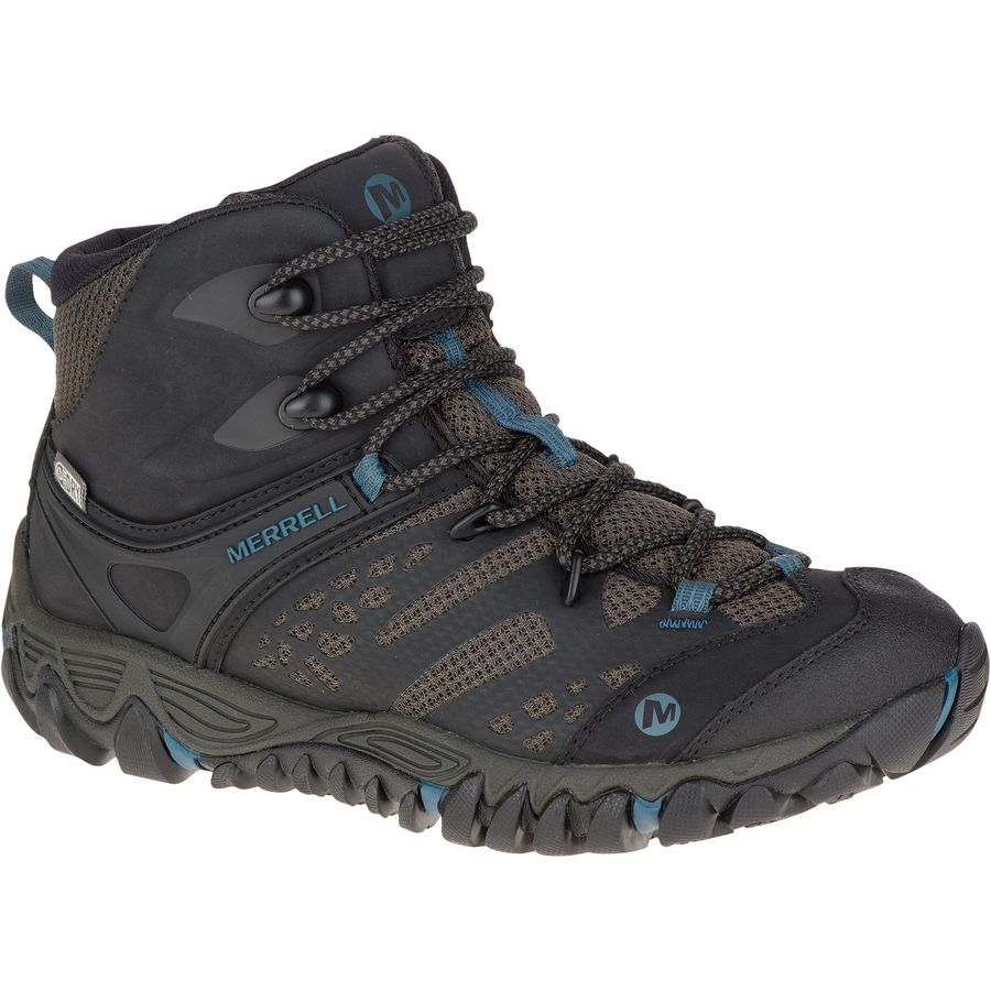 Merrell All Out Blaze Vent Mid Waterproof Hiking Boot - Womens