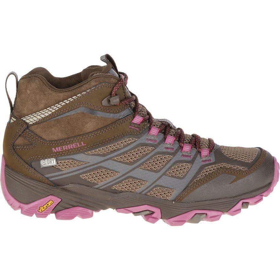 Merrell Moab FST Mid Waterproof Hiking Boot - Womens