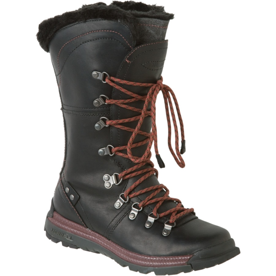 Unique MERRELL Women39s Sylva Tall Waterproof Boot Black