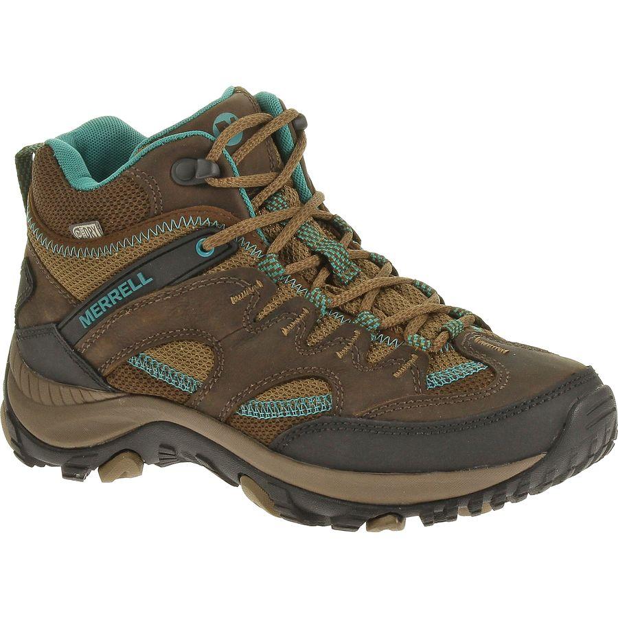 Merrell Salida Mid Waterproof Hiking Boot - Womens