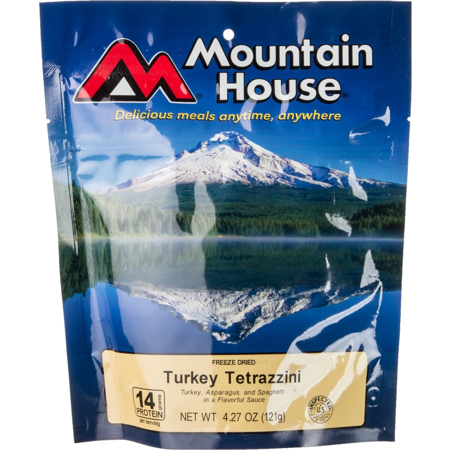 Mountain house turkey tetrazzini for Mountain house coupon