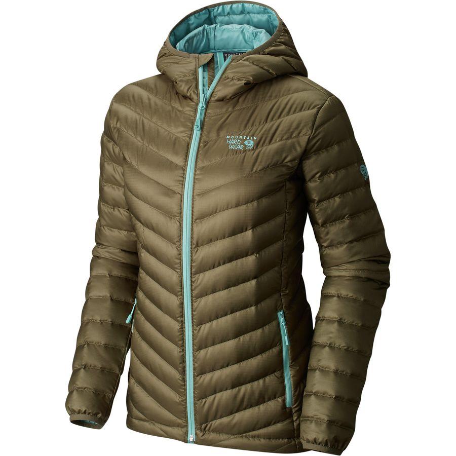 Mountain hardwear down jacket women