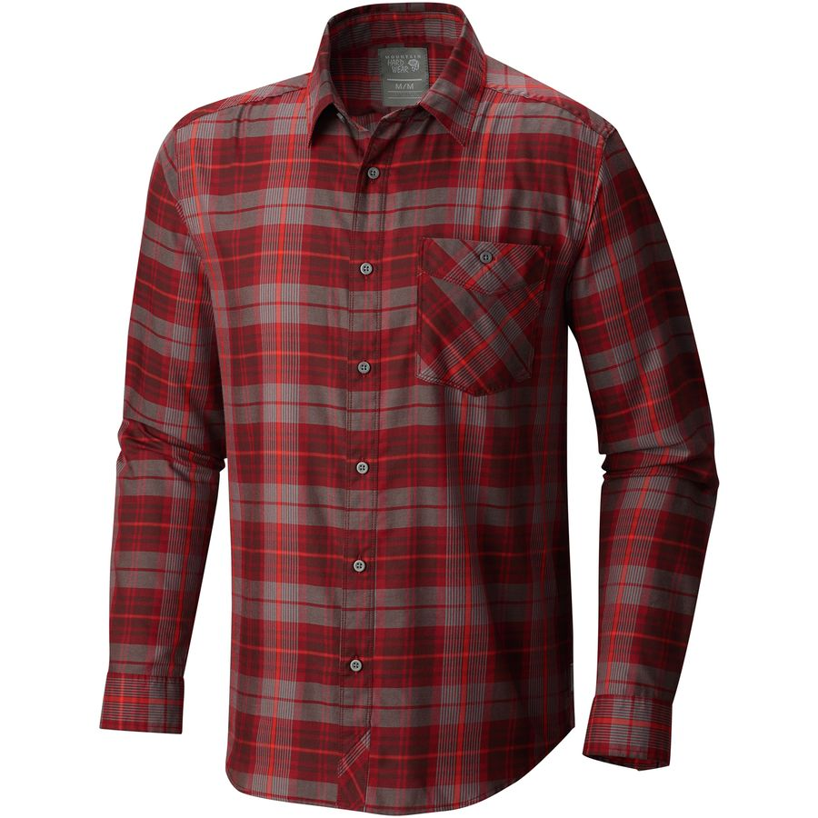 Mountain Hardwear Franklin Long-Sleeve Shirt - Mens