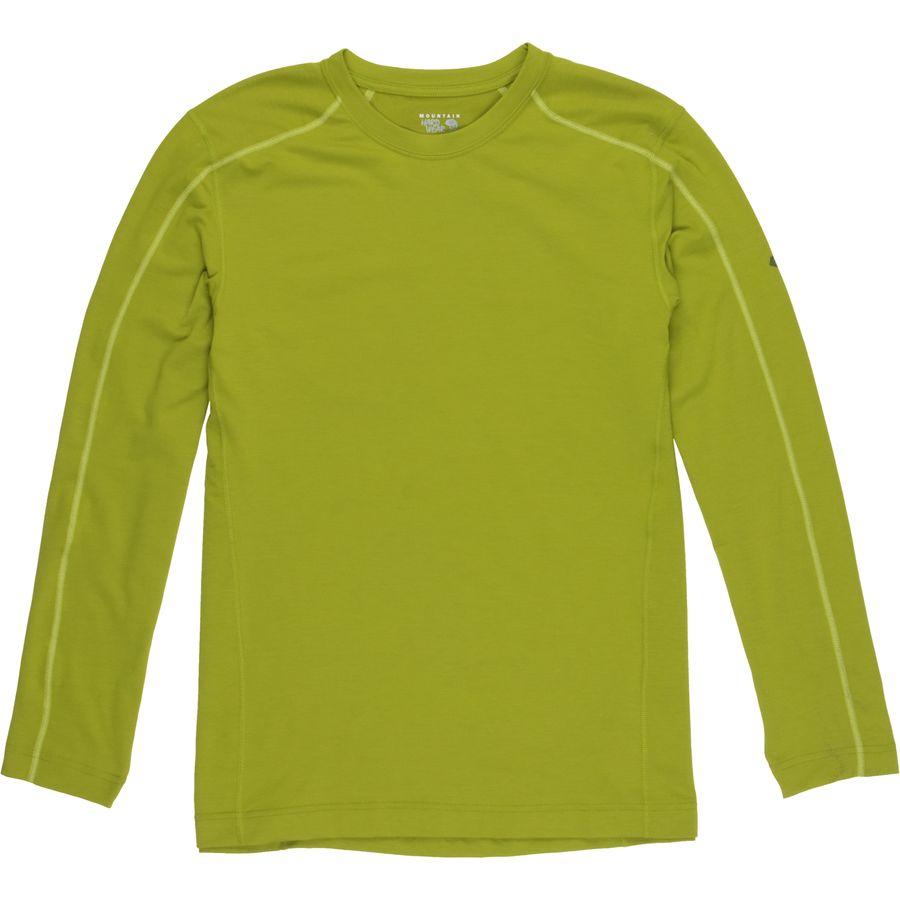 Mountain hardwear coolhiker t shirt long sleeve men 39 s for Mountain long sleeve t shirts