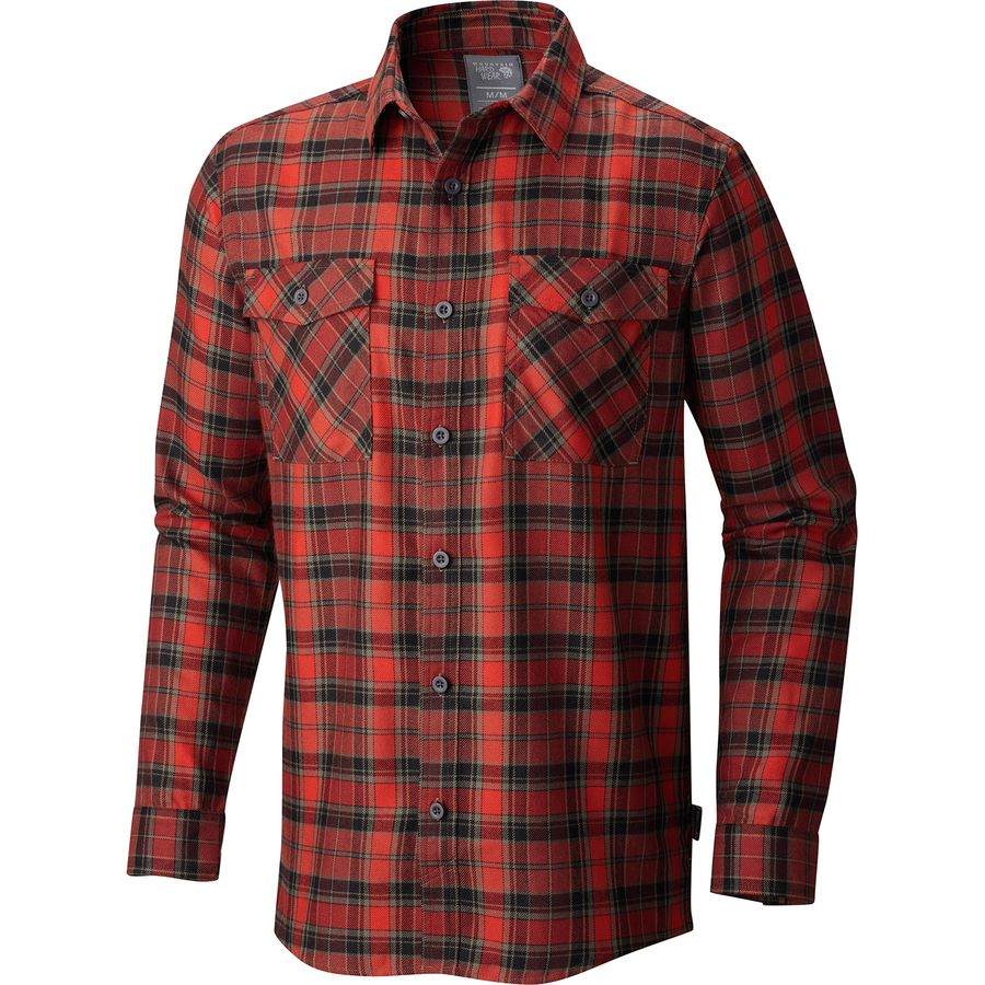 Mountain Hardwear Trekkin Flannel Long-Sleeve Shirt - Mens