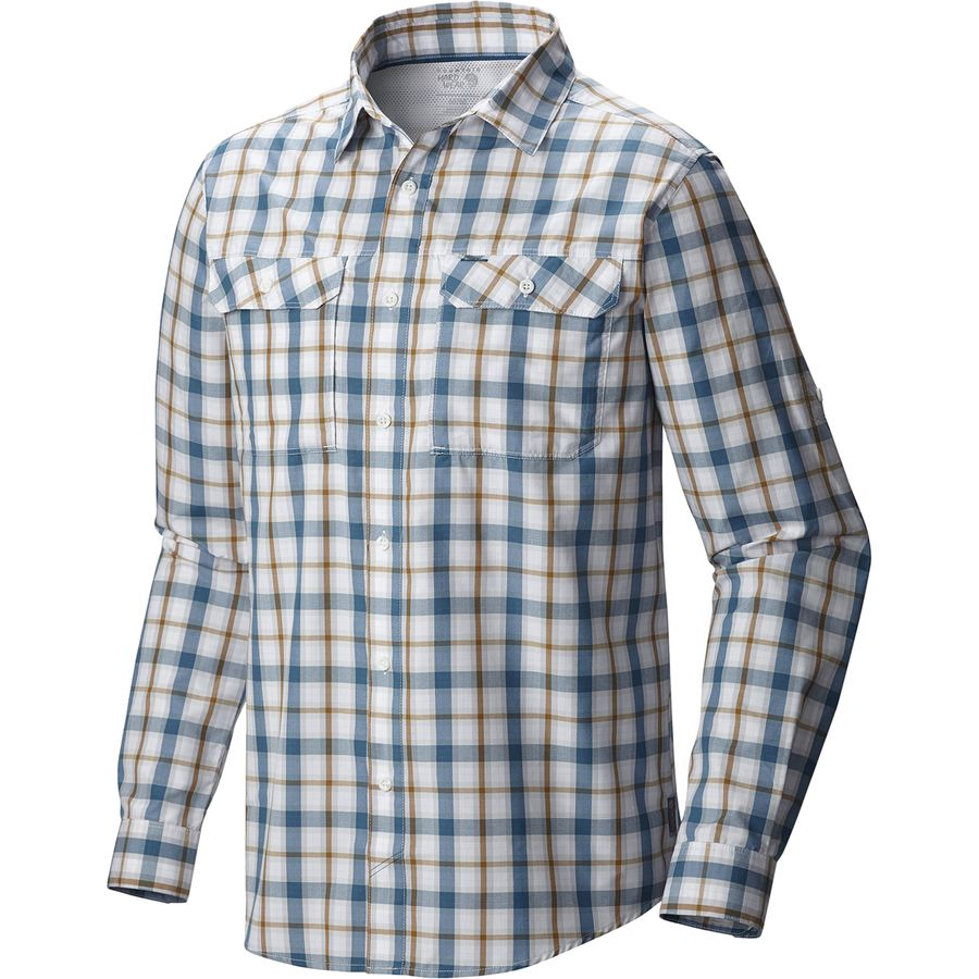 Mountain Hardwear Canyon Plaid Shirt Long Sleeve Men 39 S