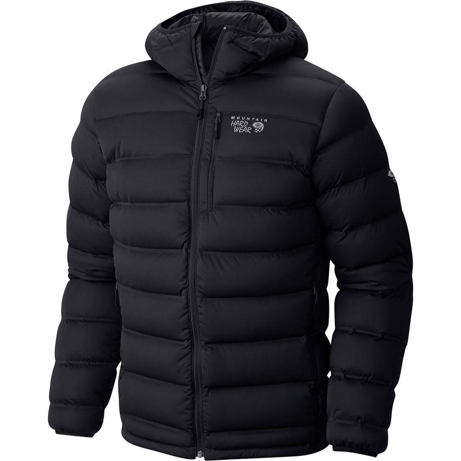 Mountain Hardwear Stretchdown Plus Hooded Down Jacket - Mens