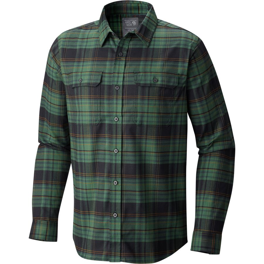 Mountain Hardwear Stretchstone Long-Sleeve Flannel Shirt - Mens