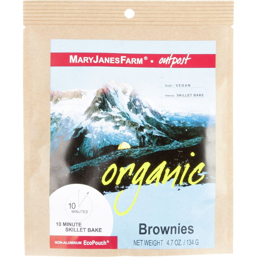 Mary Janes Organic Backpacking Food