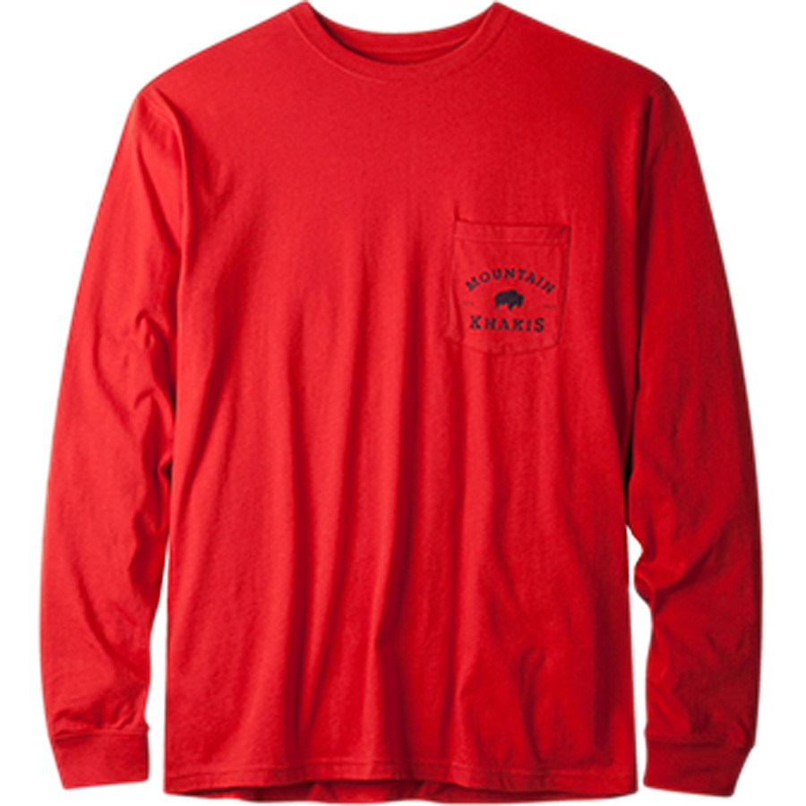 Mountain khakis classic pocket t shirt long sleeve men for Mountain long sleeve t shirts