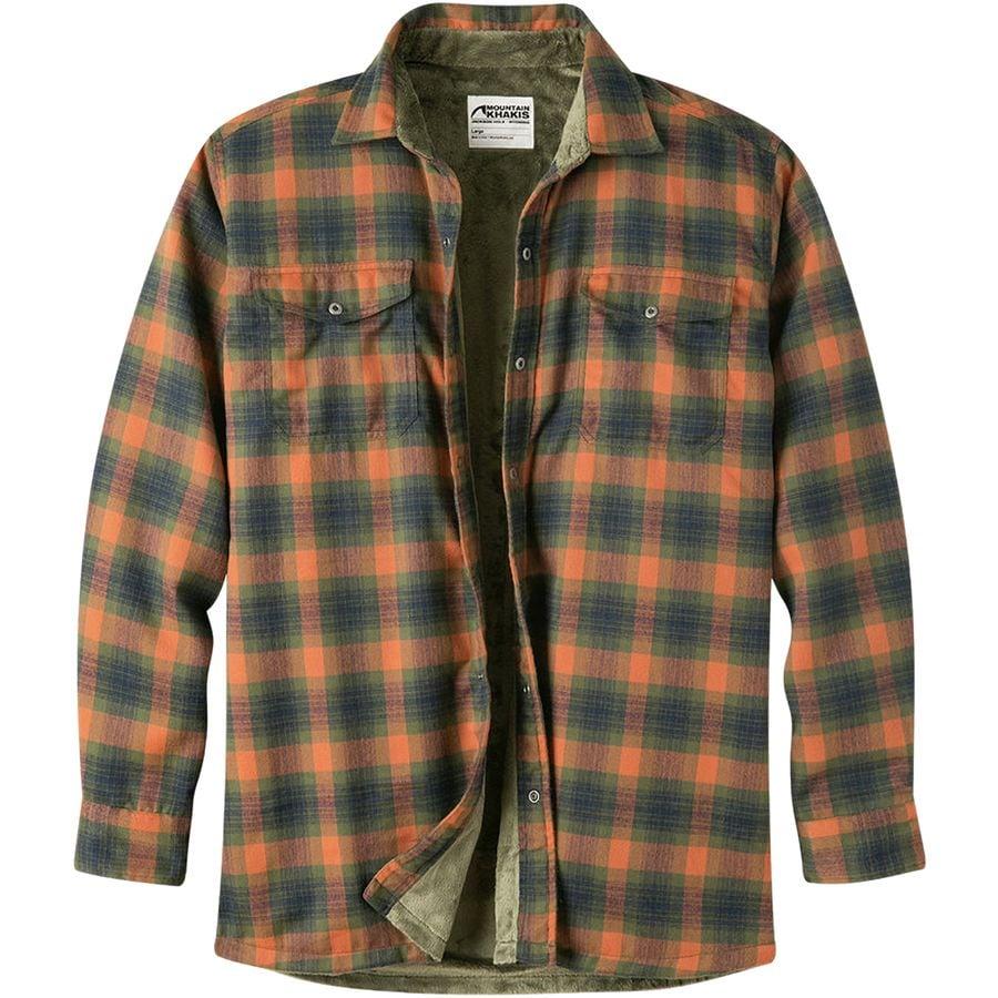 Mountain Khakis Christopher Fleece Lined Shirt Men 39 S