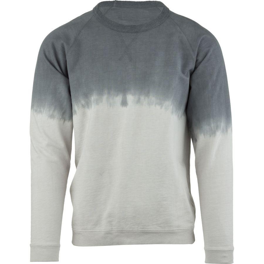 Mollusk Reverse Raglan Crew Sweatshirt - Mens