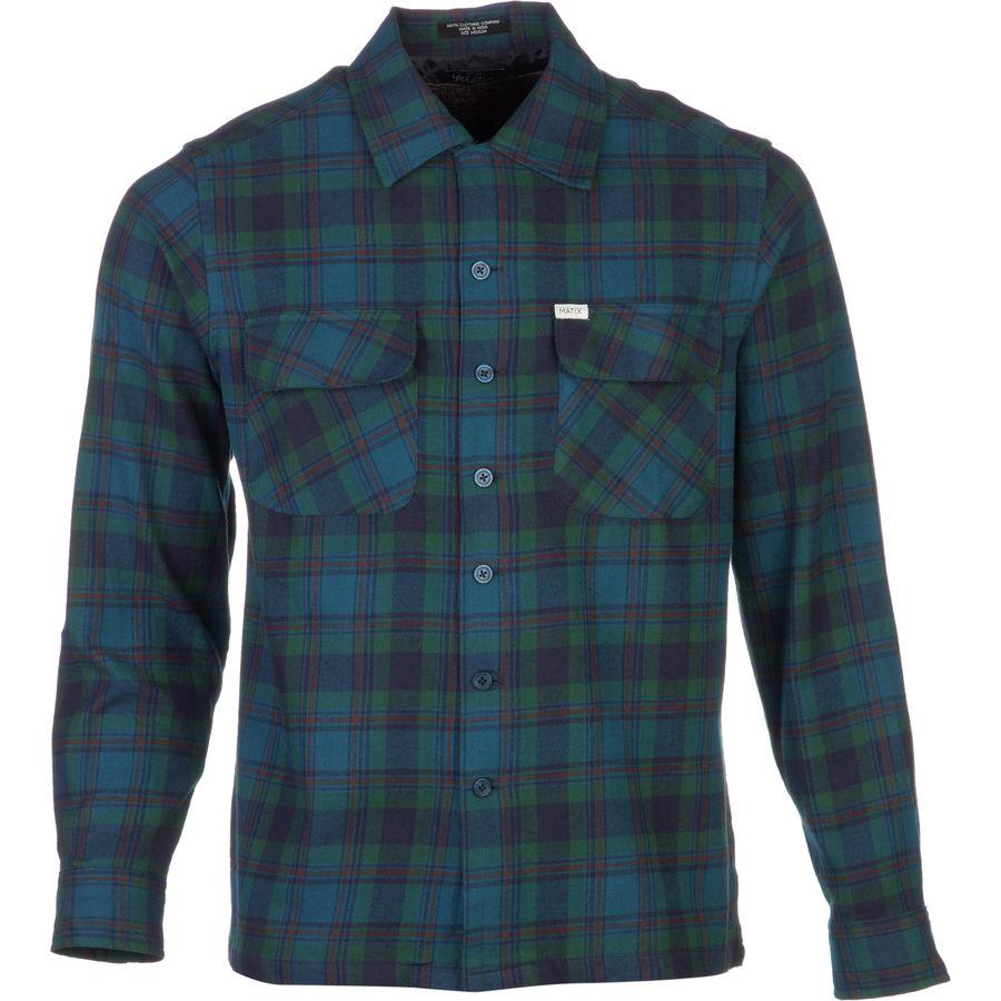 Matix lowride flannel shirt long sleeve men 39 s for Mens long sleeve flannel shirts