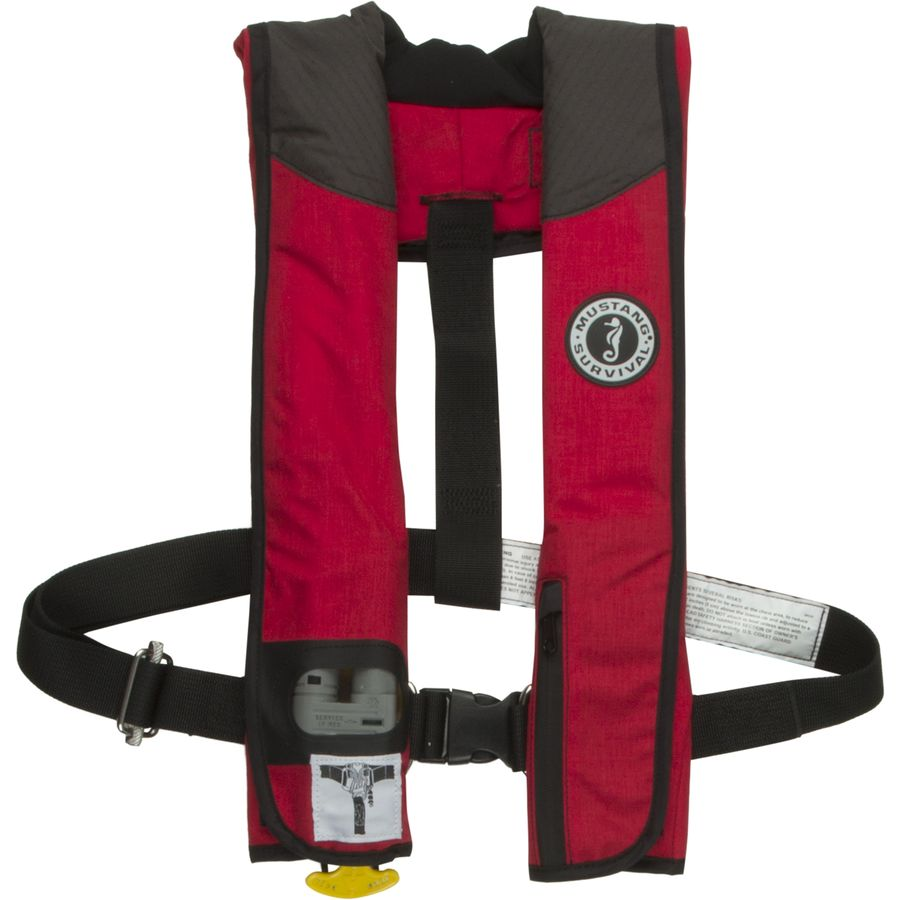 Mustang Survival Deluxe Automatic Inflatable Personal ...