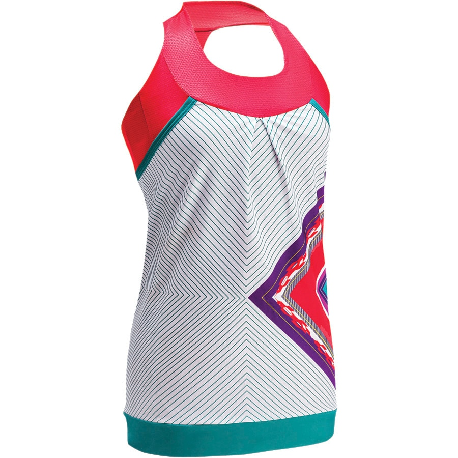 Moxie Cycling Layered Tank Jersey - Sleeveless - Womens