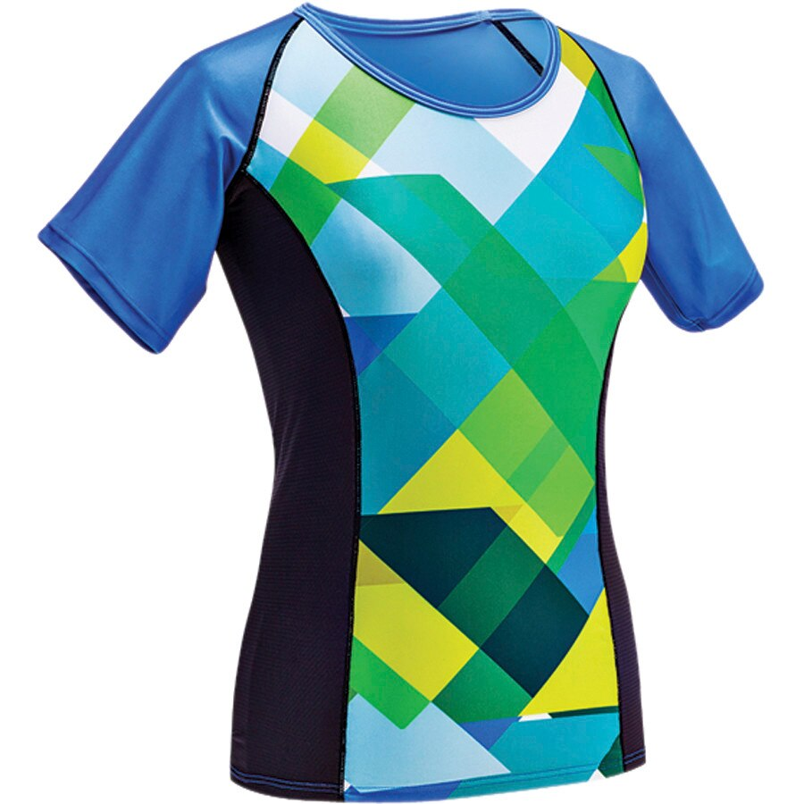 Moxie Cycling Color Block Jersey - Short Sleeve - Womens