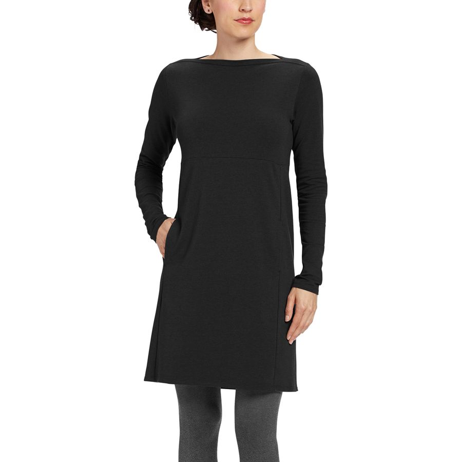 NAU Elementerry Boatneck Dress - Womens