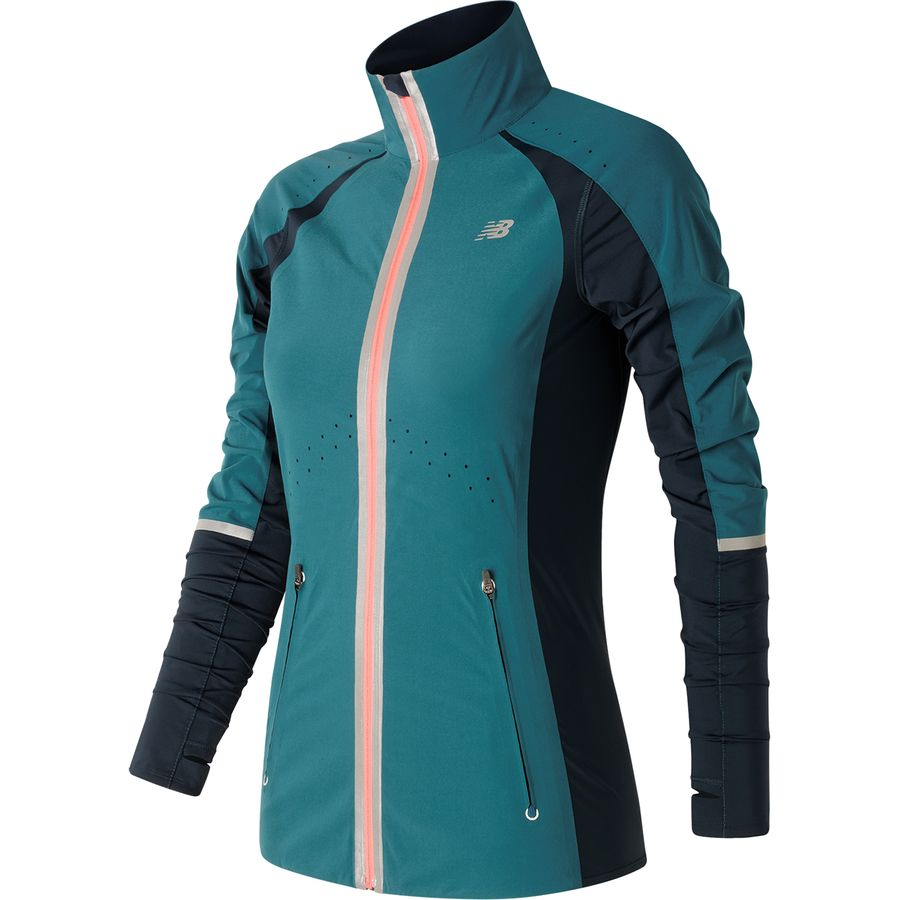new balance precision run jacket women 39 s. Black Bedroom Furniture Sets. Home Design Ideas