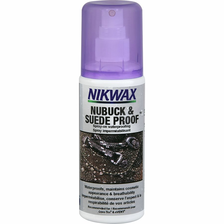 nikwax nubuck suede spray on footwear treatment