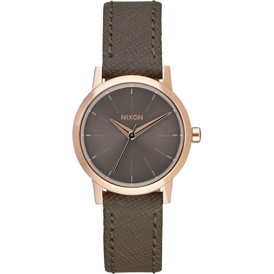 Nixon Kenzi Leather Watch - Women's