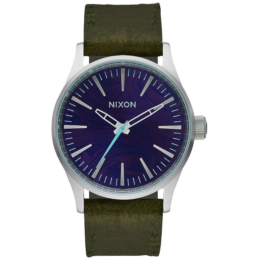 Nixon Surf Psychedelia Sentry 38 Leather Watch