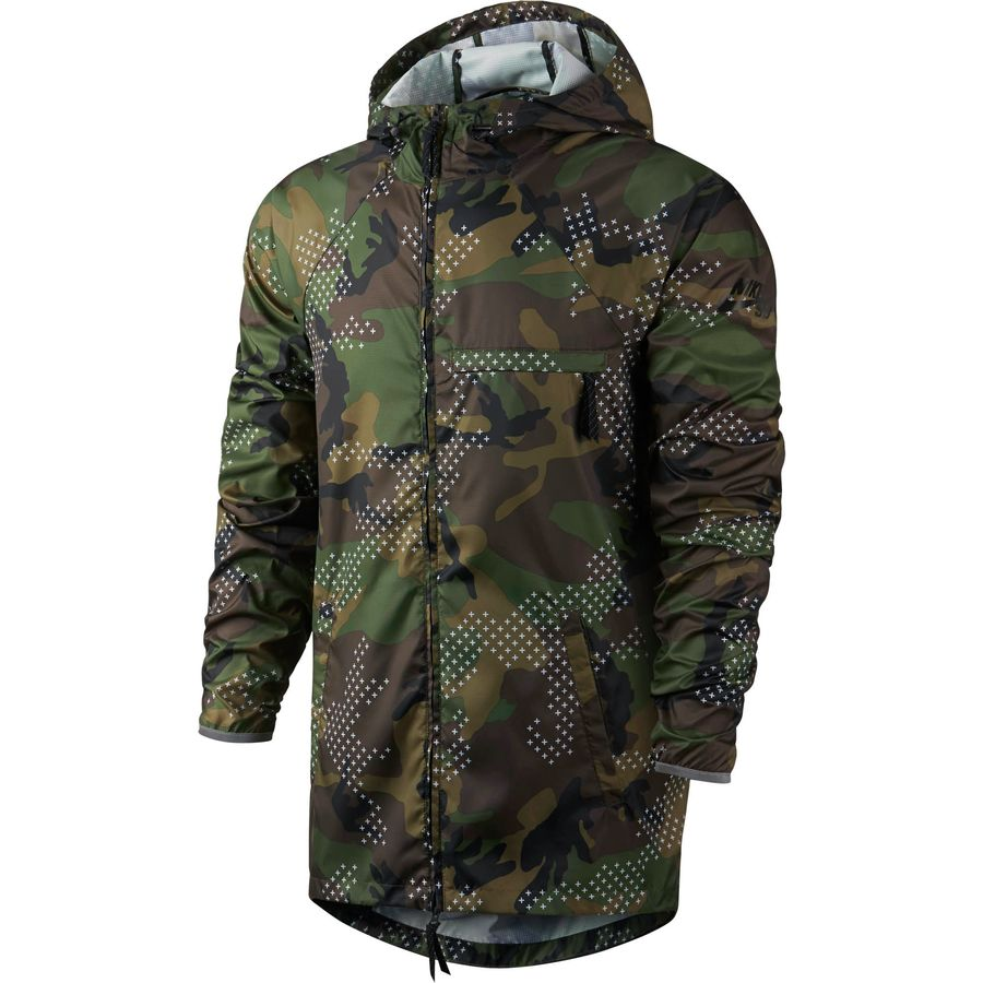 nike sb steele lightweight erdl phillips camo jacket men 39 s. Black Bedroom Furniture Sets. Home Design Ideas