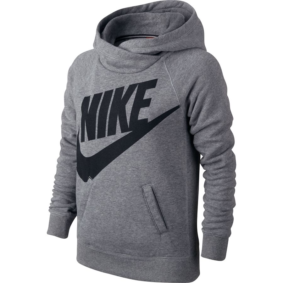 nike rally funnel neck sweatshirt girls 39. Black Bedroom Furniture Sets. Home Design Ideas
