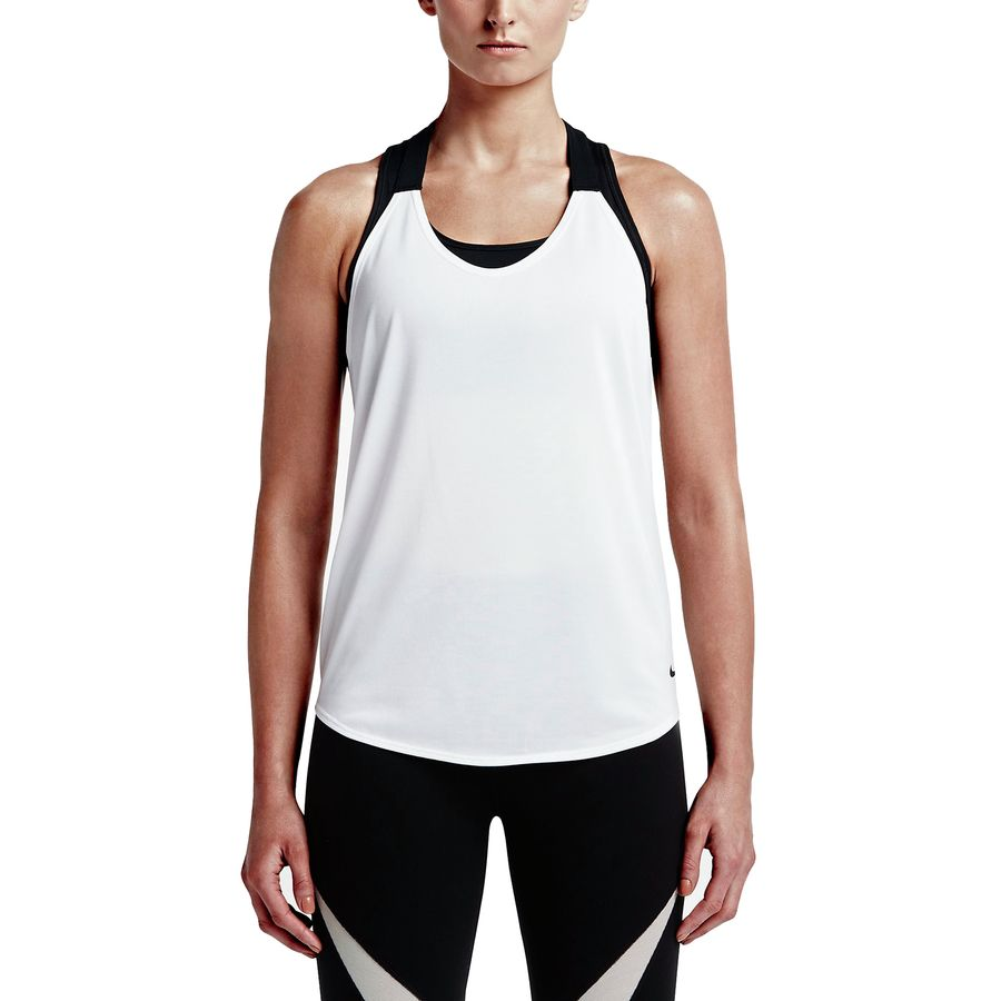Nike Elastika Solid Tank Top - Womens