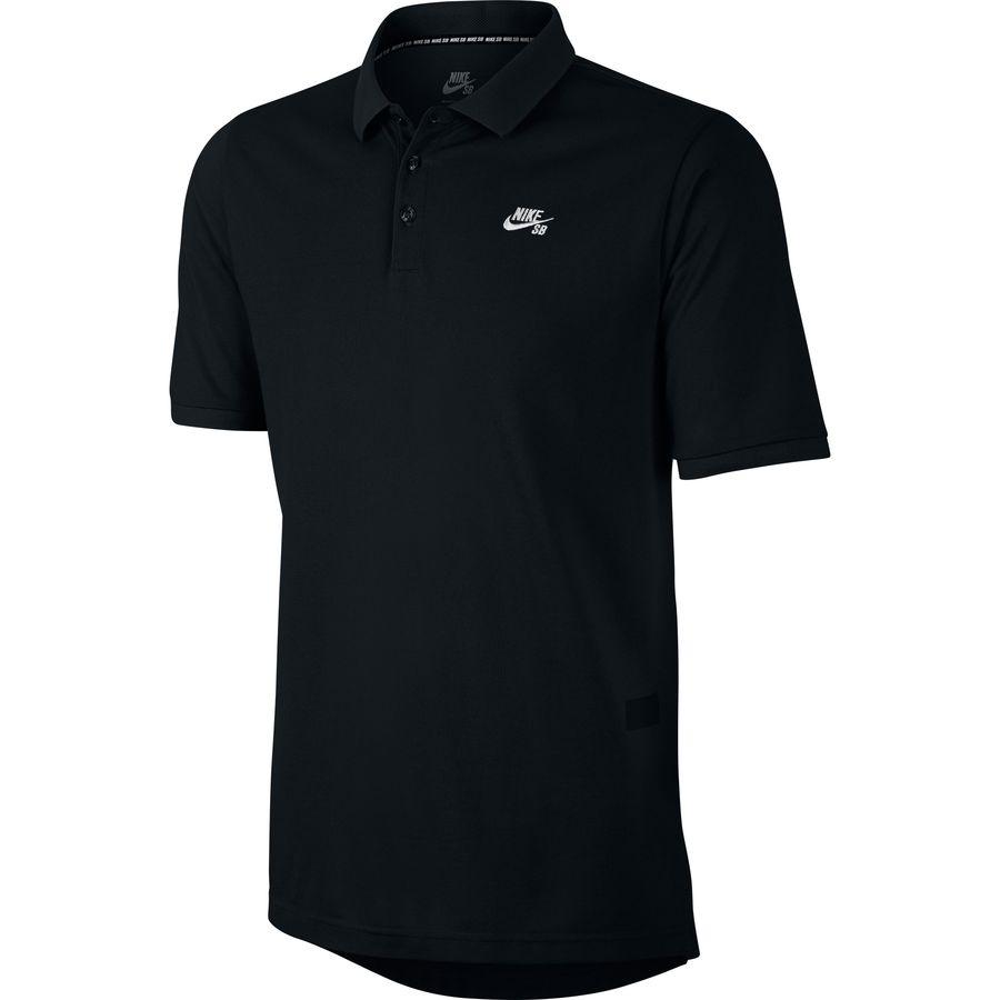 Nike sb dri fit pique polo shirt men 39 s for Dri fit polo shirts for boys