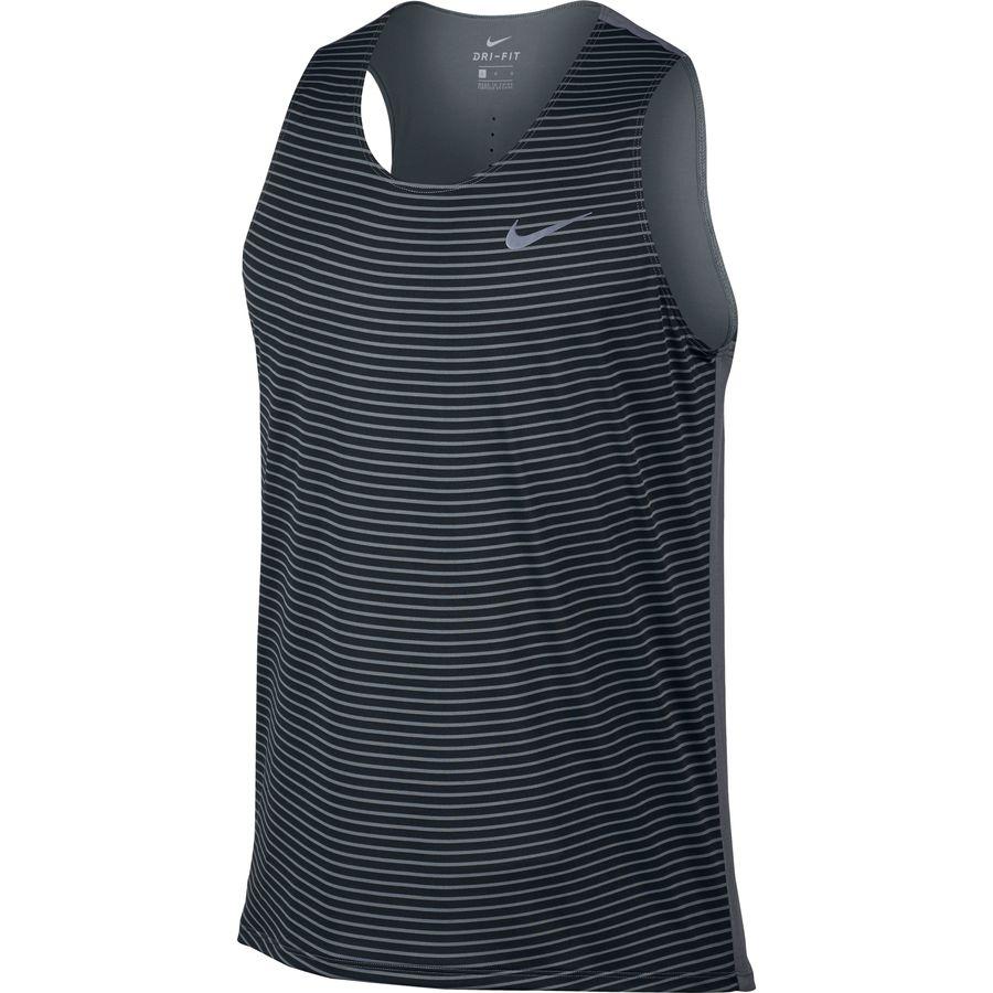 Nike Printed Racing Tank Top - Mens