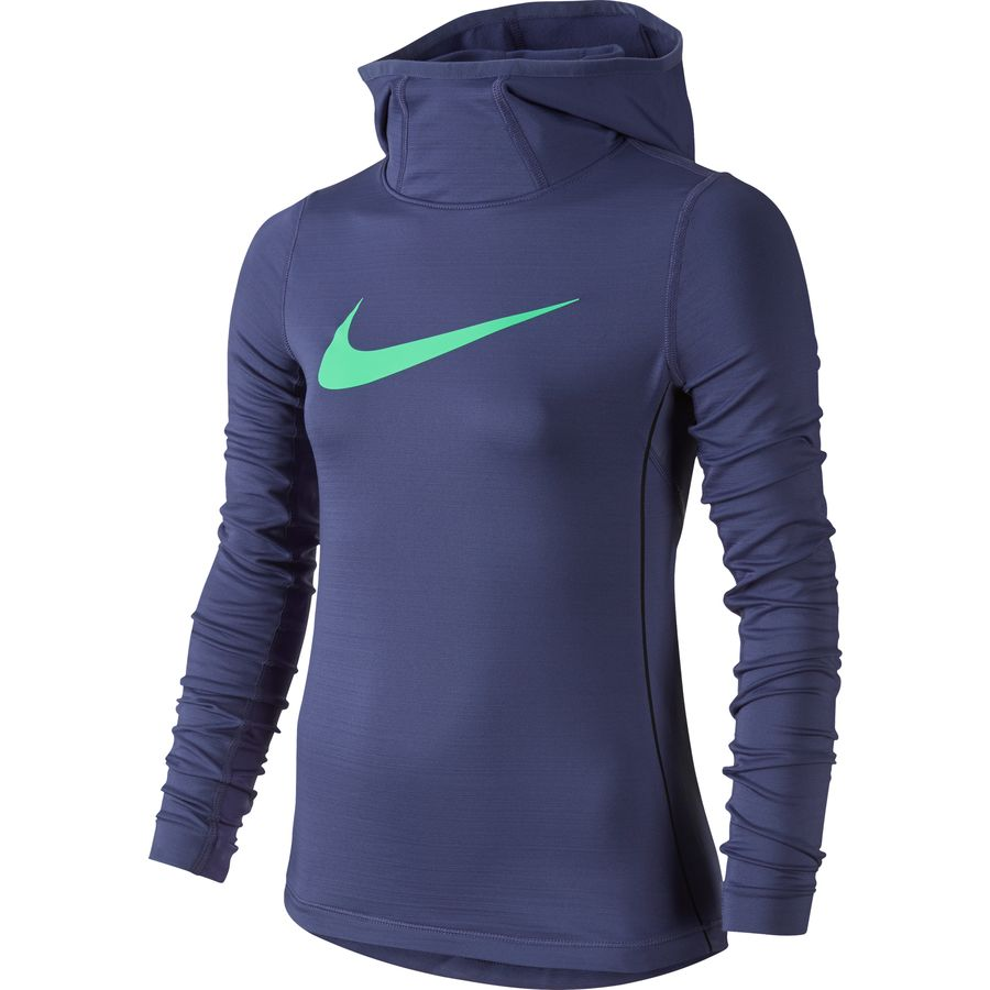 nike pro hyperwarm pullover hoodie girls 39. Black Bedroom Furniture Sets. Home Design Ideas