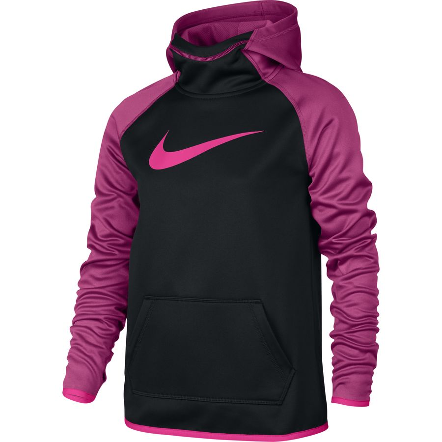 nike therma training pullover hoodie girls 39. Black Bedroom Furniture Sets. Home Design Ideas