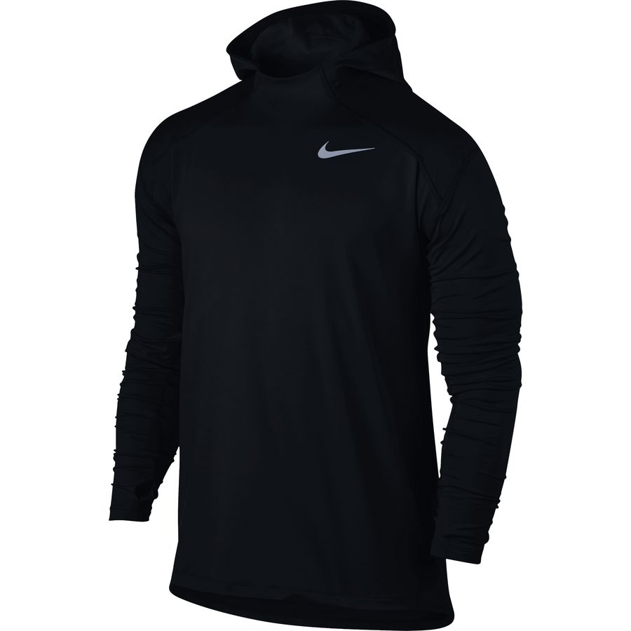 nike dry element running pullover hoodie men 39 s. Black Bedroom Furniture Sets. Home Design Ideas