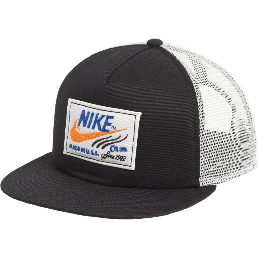 nike labeled snapback trucker hat backcountry