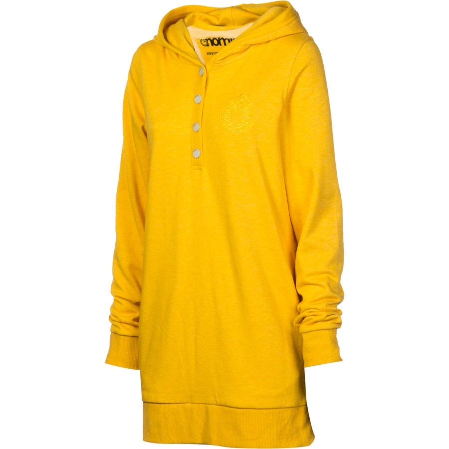 Nomis Mellow Tall Henley Pullover Hoodie - Women's | Backcountry.com