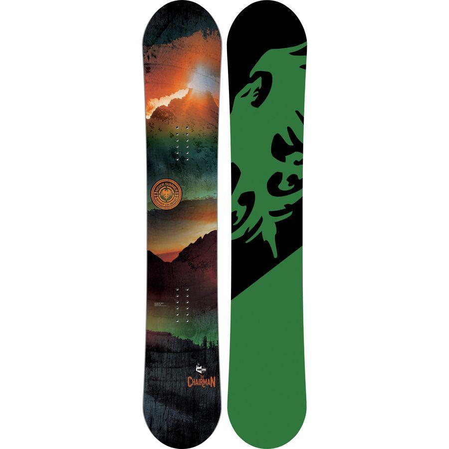 Never Summer Chairman X Snowboard - Wide