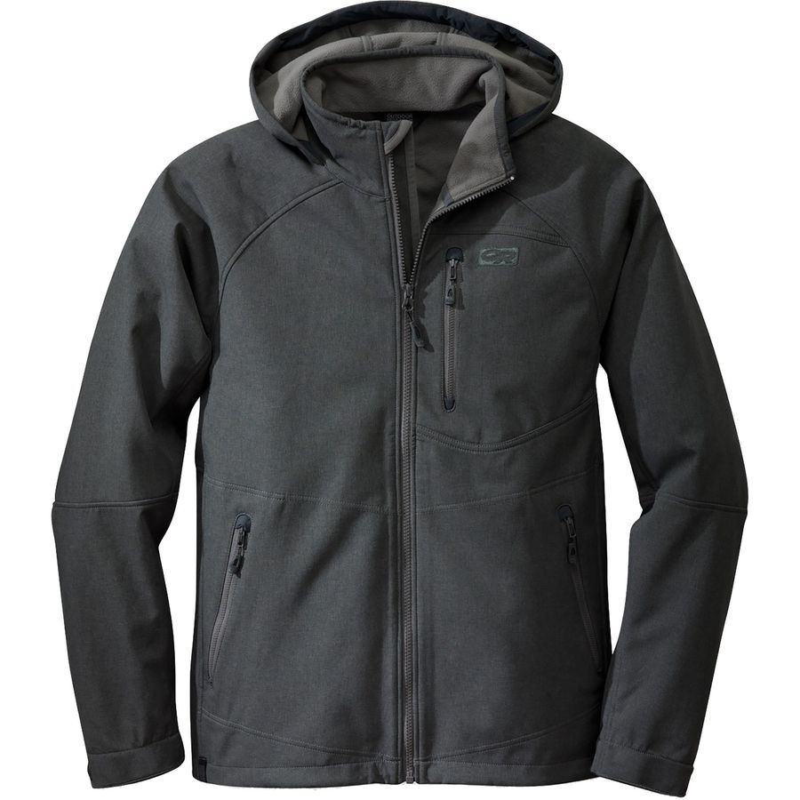 Outdoor Research Deadbolt Hooded Softshell Jacket - Men's ...