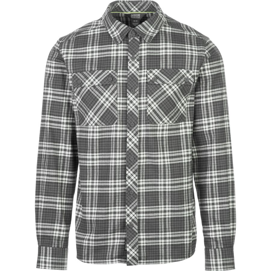 Outdoor research crony flannel shirt long sleeve men 39 s for 9 oz flannel shirt
