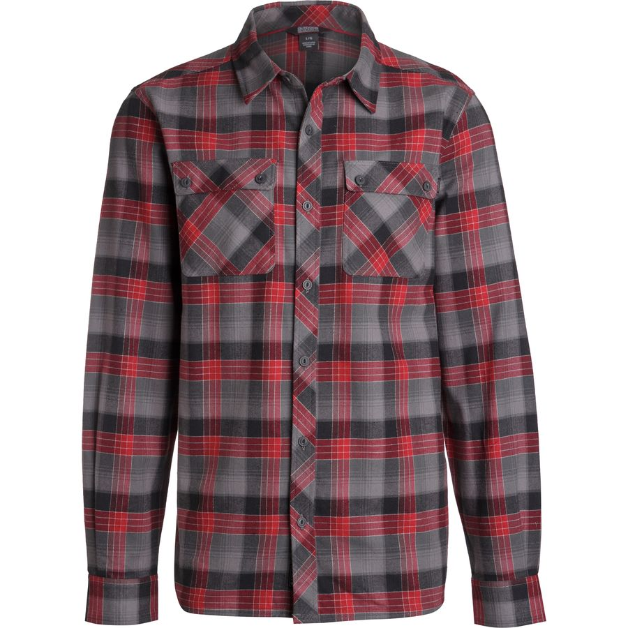 Outdoor research crony flannel shirt men 39 s up to 70 for 9 oz flannel shirt