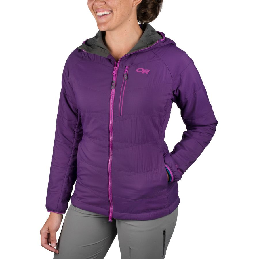 Outdoor Research Uberlayer Insulated Hooded Jacket - Womens