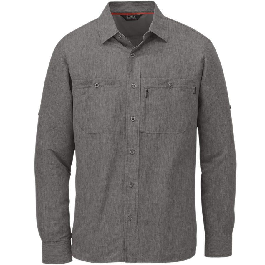 Outdoor research wayward sentinel shirt men 39 s for Mens outdoor long sleeve shirts