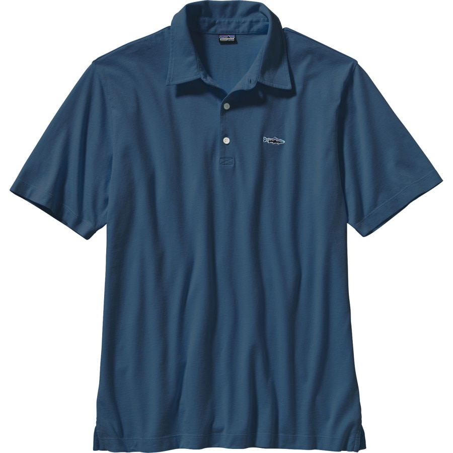 Patagonia Trout Fitz Roy Polo Shirt Men 39 S