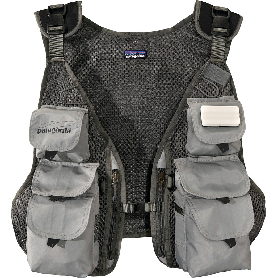 Patagonia convertible fly fishing vest for Best fishing vest