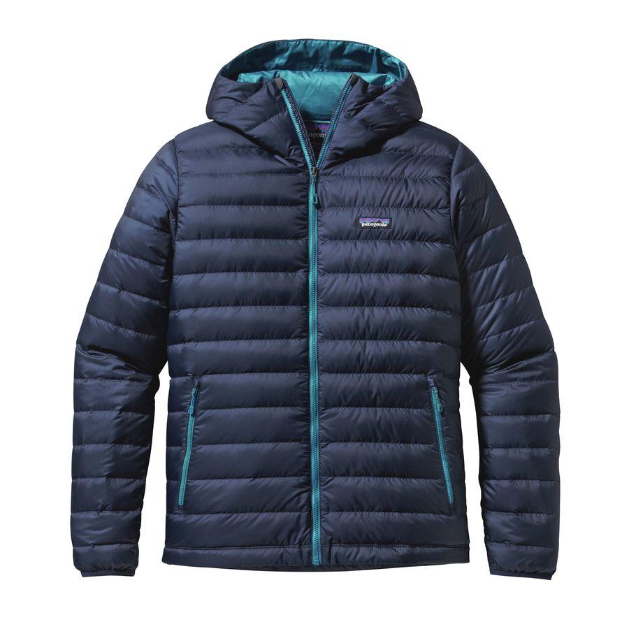 Patagonia Down Sweater Full Zip Hooded Jacket Men S