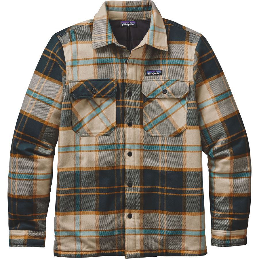 Patagonia Insulated Fjord Flannel Jacket Men 39 S